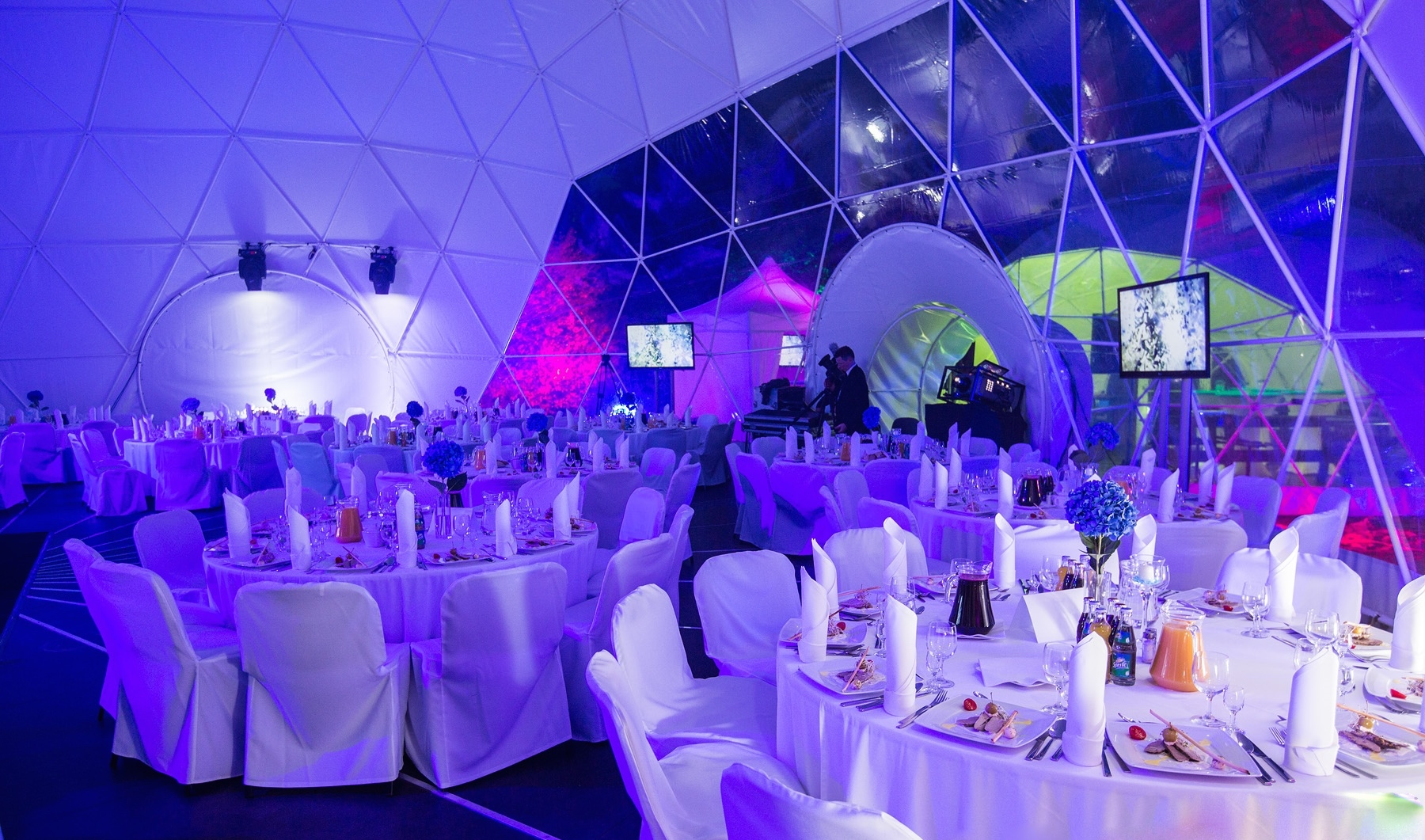 Wedding dome tent