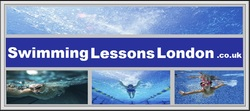 swimming lessons london logo