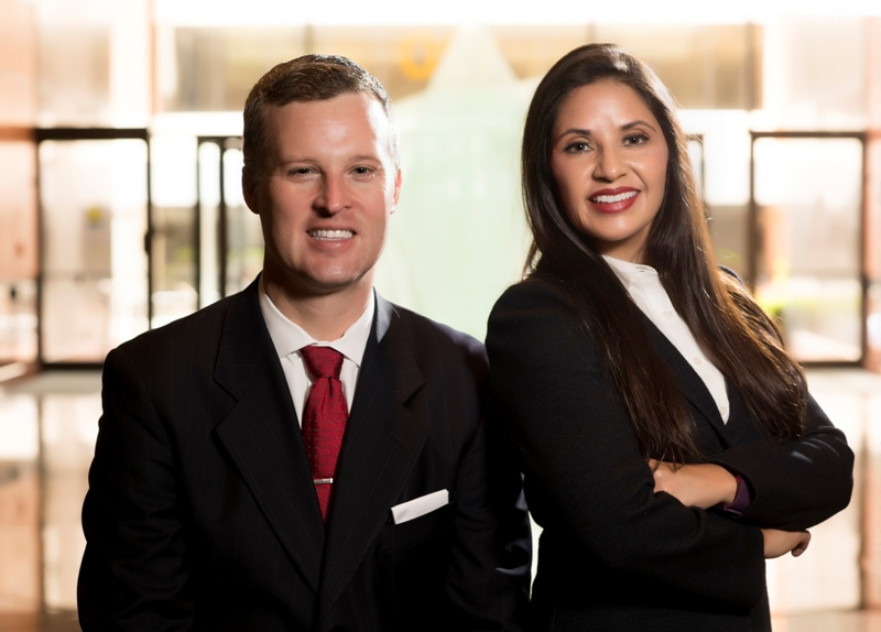 Kirk and Paola Stange, Founding Partners of Stange Law Firm, PC.