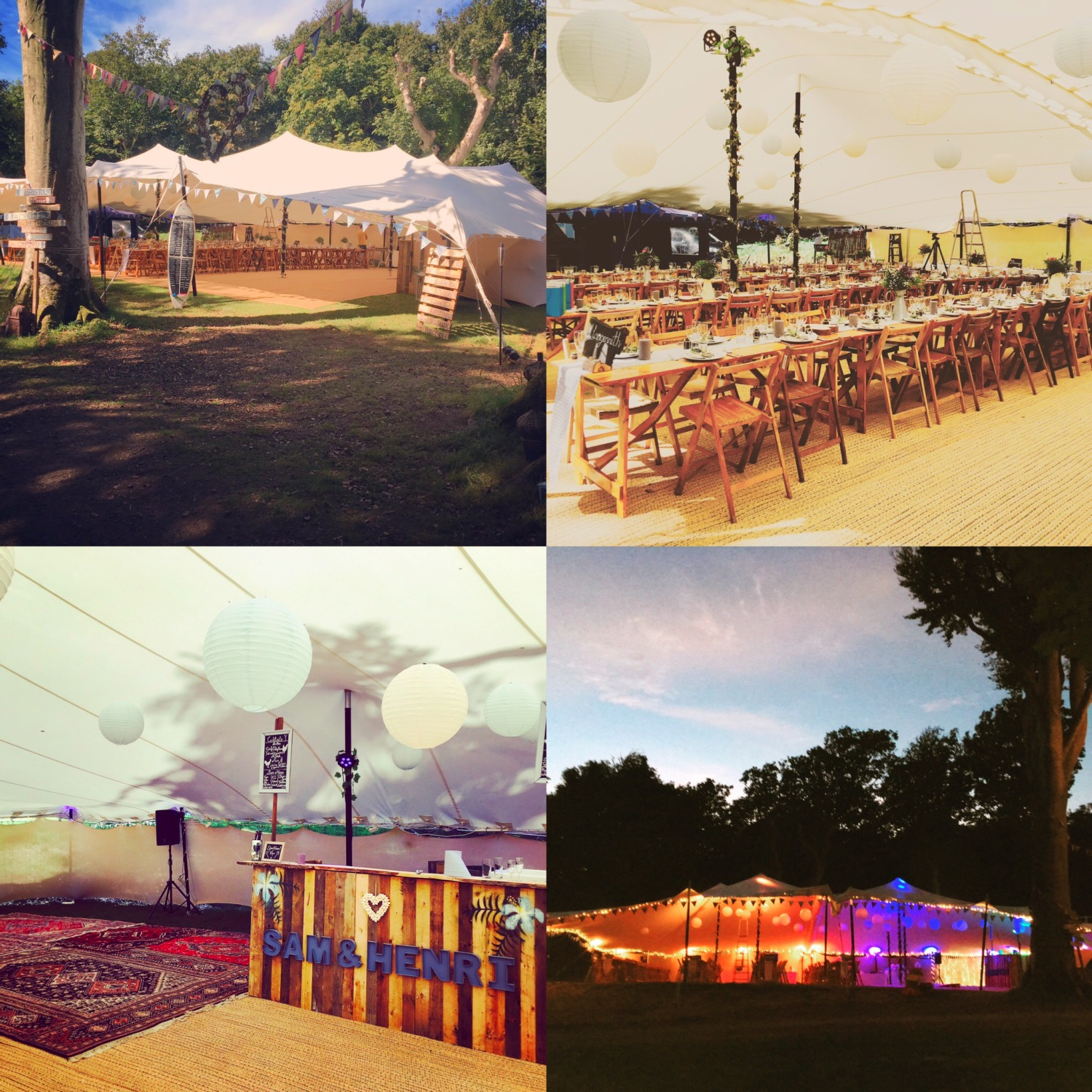 If you are bored of the look of a traditional marquee why not getting in touch to find out more about how it all works?