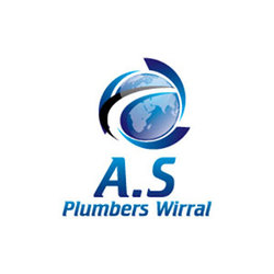 A.S. Plumbers Wirral Logo