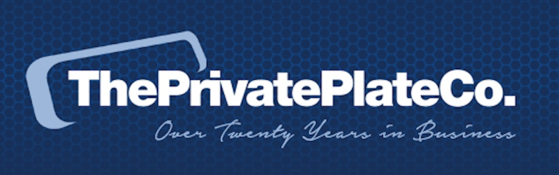 The private plate logo
