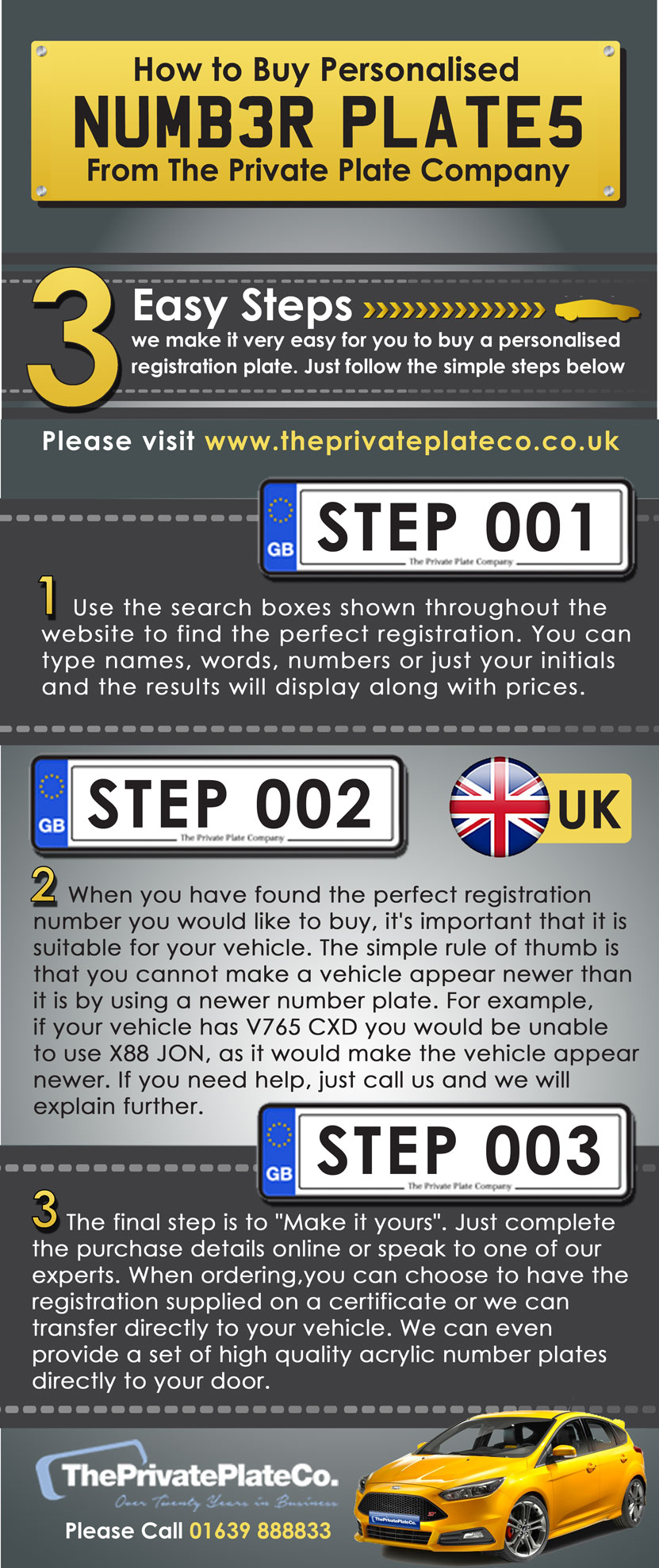 how to buy UK personal number plate