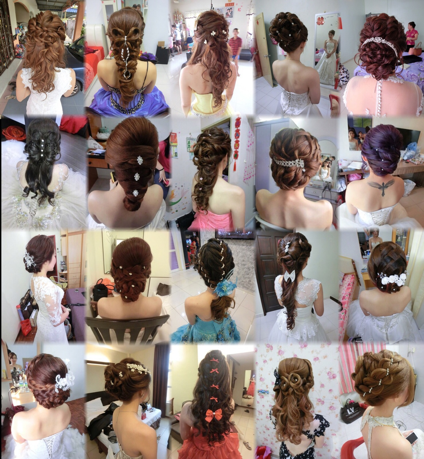 Makeup and Hairstyling Services