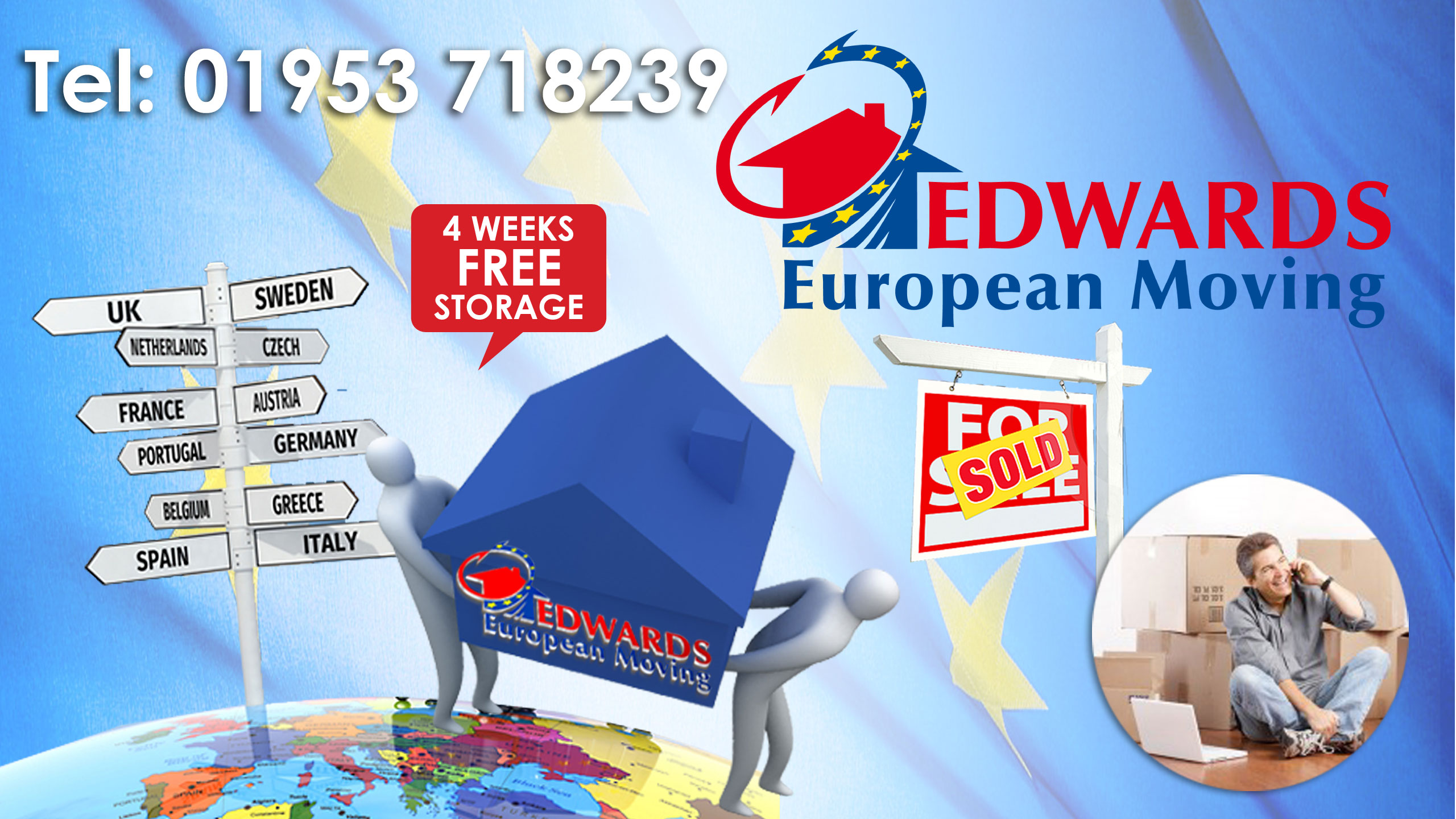 Removals company to Europe