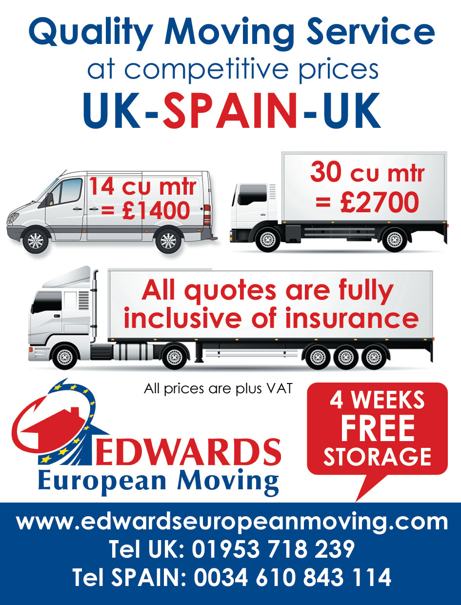 Removals price to Europe