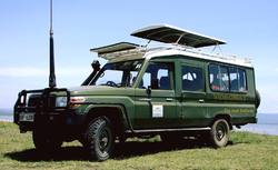 Safari Landcrusier with Open Roof
