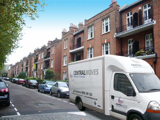 Man and van removals London